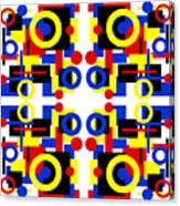 Geometric Shapes Abstract Square 3 Canvas Print
