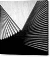 Geometric Shapes And Stairs Canvas Print