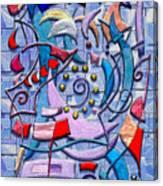 Geometric Wizardry Canvas Print
