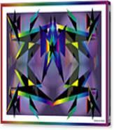 Geometrics1 Canvas Print