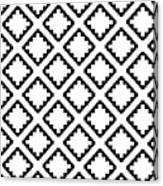 Geometricsquaresdiamondpattern Canvas Print