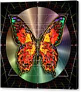 Geometron Fyr Lepidoptera Canvas Print
