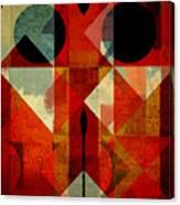 Geomix-04 - 39c3at22g Canvas Print