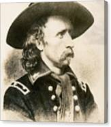 George Armstrong Custer  Canvas Print