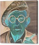 George Burns Canvas Print