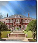 George C Greer House  Canvas Print