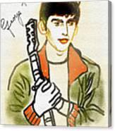 George Harrison - 2 Canvas Print