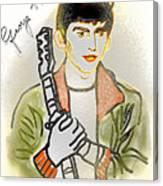 George Harrison - 3 Canvas Print