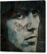 George Harrison @ Butterfly Canvas Print