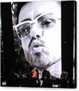 George Michael Sends A Kiss Canvas Print
