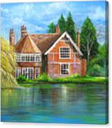 George Michaels Estate In Goring,england Canvas Print