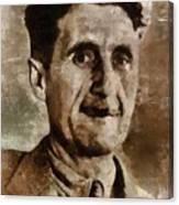 George Orwell Author Canvas Print