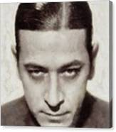 George Raft, Vintage Actor Canvas Print