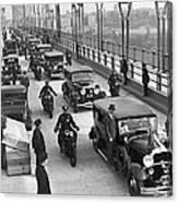 George Washington Bridge Open Canvas Print