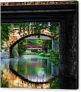 Georgetown Canal Bridges Canvas Print