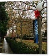 Georgetown Law Holiday Canvas Print