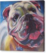 Georgia Bulldog Canvas Print