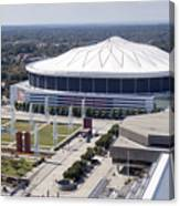 Georgia Dome In Atlanta Canvas Print