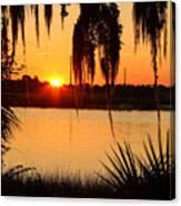 Georgia Sunset Canvas Print