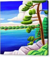Georgian Bay Shores II Canvas Print