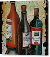 Georgian Wine Fresco Canvas Print