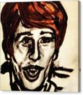 Georgie Fame Portrait Canvas Print