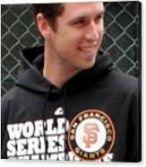 Gerald Buster Posey Canvas Print