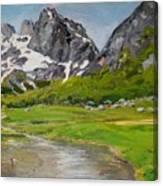 Gerbaje - Ne Mrekulline E Quajtur Guci Canvas Print