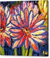 Gerberas Number Three Canvas Print
