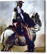 Gericault: Trumpeter, 1814 Canvas Print