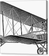 German Airplane, 1913 Canvas Print