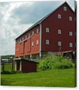 Historic German Bank Barn - Maryland Canvas Print
