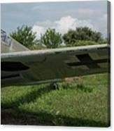 German Fighter Canvas Print