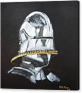 German Helmet Canvas Print