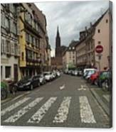 German Street Canvas Print