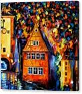 Germany - Medieval Rothenburg Canvas Print