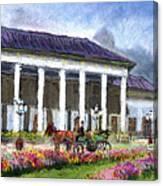 Germany Baden-baden Kurhaus Kasino Canvas Print