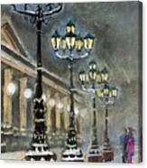 Germany Baden-baden Kurhaus Canvas Print