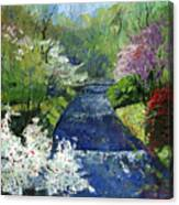 Germany Baden-baden Spring Canvas Print