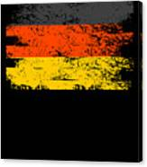 Germany Gift Country Flag Patriotic Travel Shirt Europe Light Canvas Print