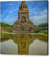 Germany - Monument To The Battle Of The Nations In Leipzig, Saxony Canvas Print