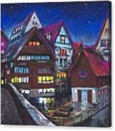 Germany Ulm Fischer Viertel Canvas Print
