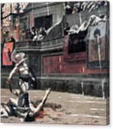Gerome: Gladiators, 1874 Canvas Print