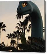 Gertie In The Trees Canvas Print