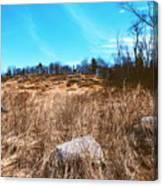 Gerttysburg Series Little Round Top Canvas Print