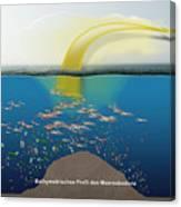 Geruchssinn Von Eissturmvoegeln - Procellariidae  Canvas Print