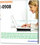 Get Solution For Gmail Support Service Number 1-844-202-0908 Canvas Print