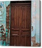 Getemala  Door 1 Canvas Print
