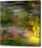Gethsemane Vision-2008 Canvas Print