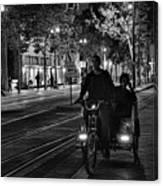 Getting Around San Jose Nights  Canvas Print